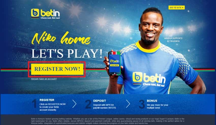 Betin Registration