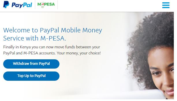 how to link paypal with mpesa